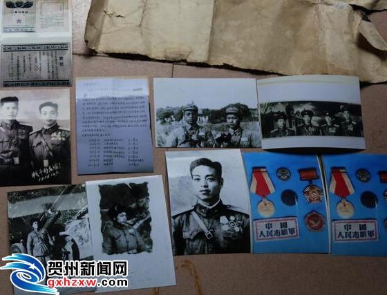 访平桂区黄田镇92岁老党员吴建平