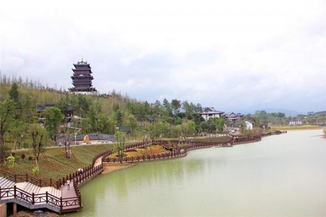 贺州园博园之万寿湖