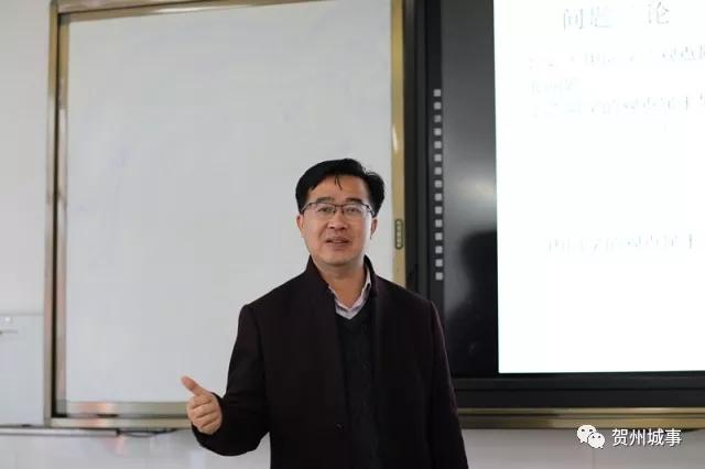 贺州教师杨晋丨三尺讲台默默耕耘 只愿桃李满天下