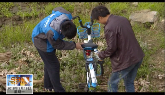 共享单车投放以来被损坏超600辆