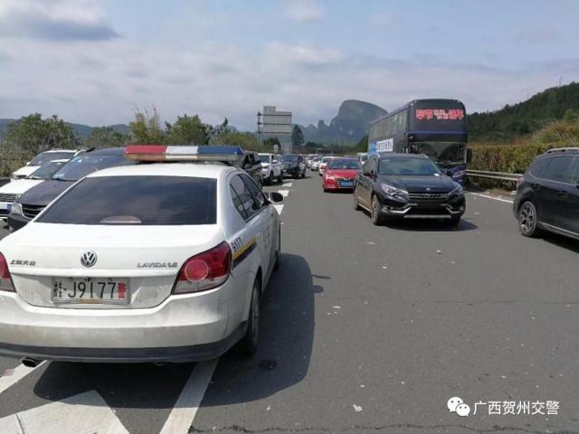 贺州清明节期间路况早知道!这些路段车流量好大呀!