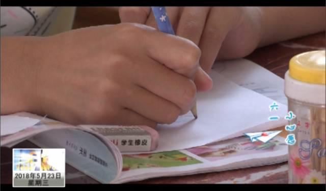 潘连雁:喜欢绘画 用画笔描绘未来