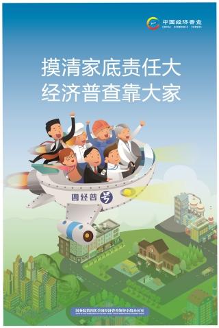 全國(guo)第四次經濟(ji)普查宣傳海(hai)報