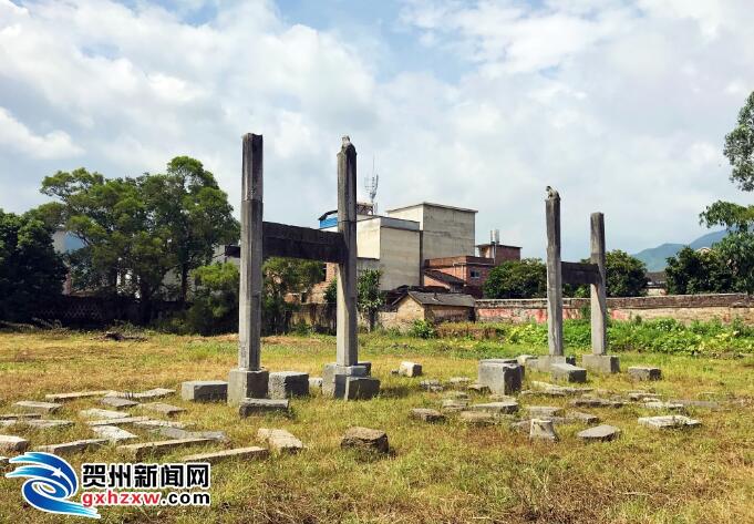 临贺故城国学教育基地(文庙)正式开工