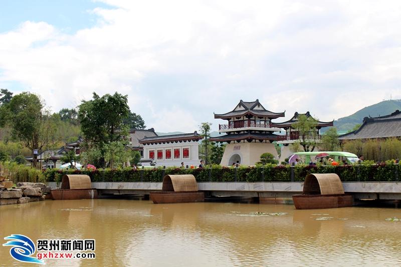 贺州园博园之船桥