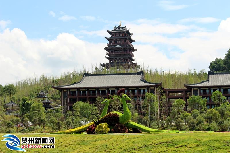 贺州园博园之花卉绿岛