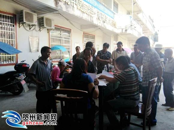 桂岭镇:贫困户家门口免费办理残疾证