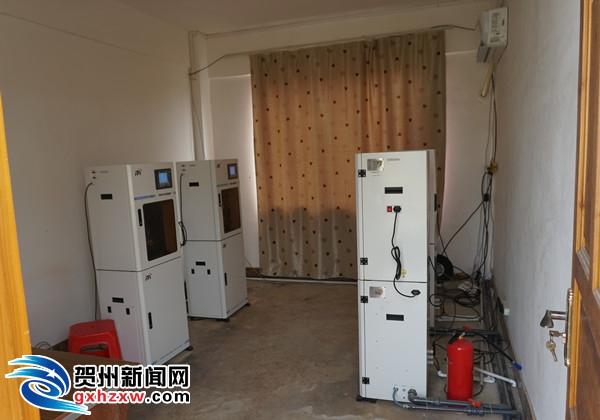 钟山县公安镇污水处理厂日均处理污水1000吨