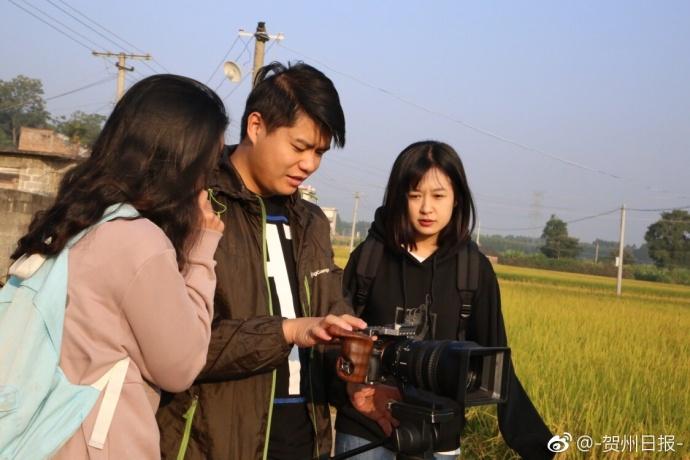 广西卫视《百寿探秘》摄制组首次...