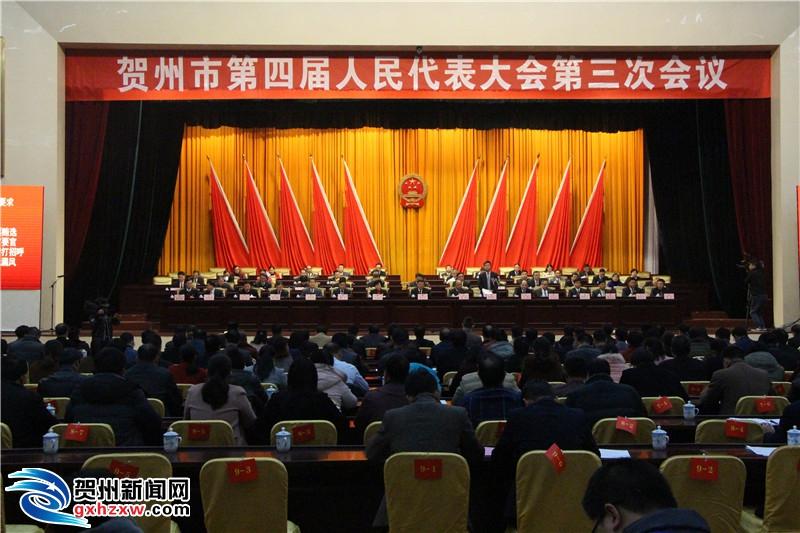 市四届人大三次会议举行第三次全体会议
