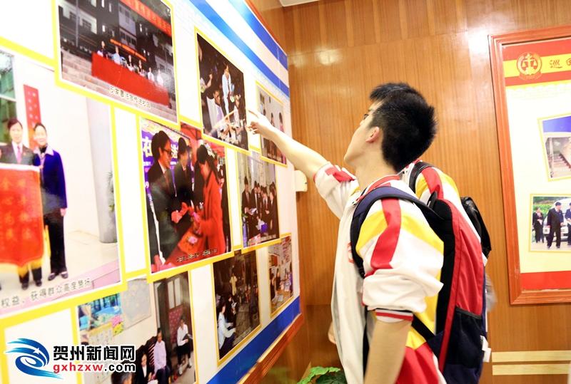 昭平法院开放日迎来昭中学生  为青少年种下公平正义的种子