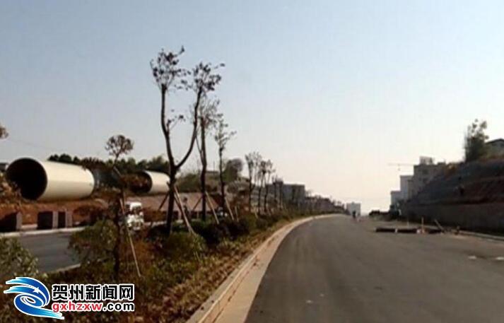 富川南环路路面宽度拓宽至36米 ...