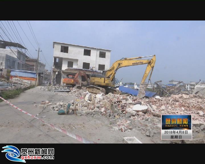 拆旧房修新路 江南街道片区将迎新变化