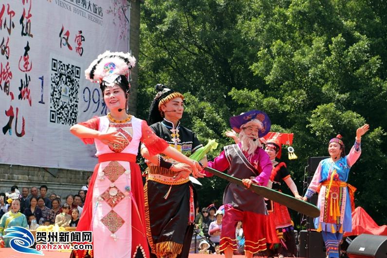 灵峰广场歌圩唱起来 以歌会友为寿城添彩