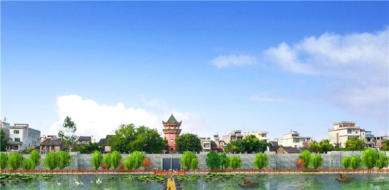 賀州又一防洪堤即將修建完(wan)成(cheng)!總投資約13876萬元!...