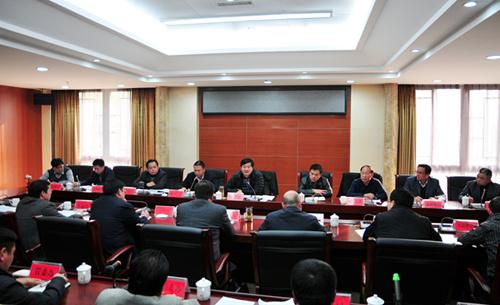 常务副市长刘宏武到管理区调研经济发展情况