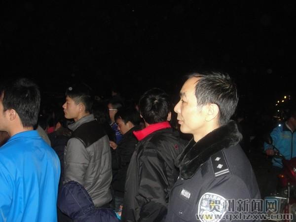 【新春走基层】公安民警春节期间值勤掠影