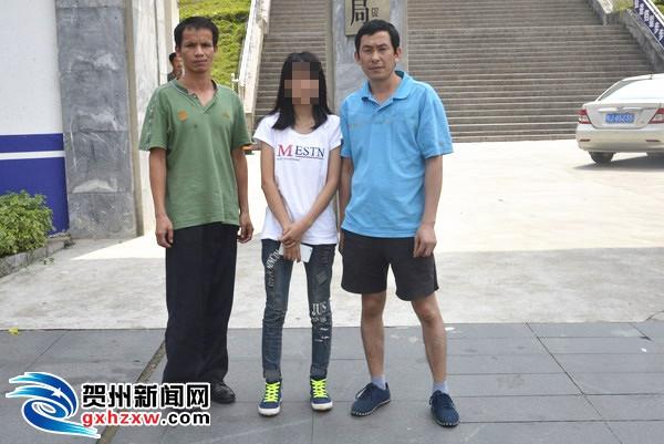 13岁少女逃学千里会网友  父母求助昭平警方帮找回