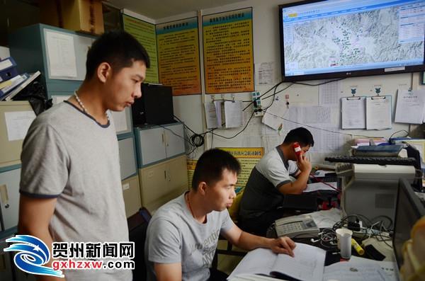 平桂管理区积极应对新一轮强降雨