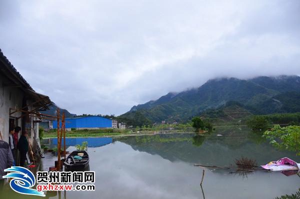 昭平县冬季遭遇罕见强降雨