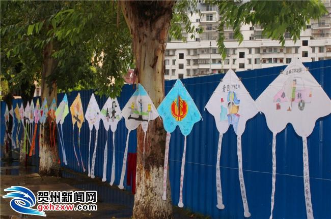 小手拉大手 手绘风筝传税法