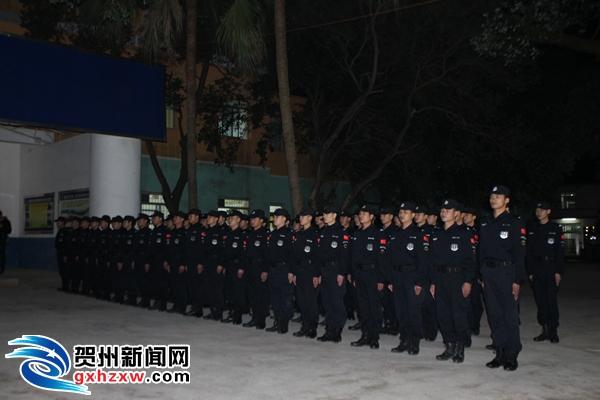 平桂应急处突二大队——抢险应急的先锋