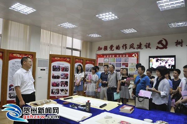 """贺州供电局:""""三个引领""""强化党组织建设 增强企业发展"""