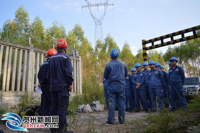 贺州供电局:联合铁路局开展电气化铁路故障停运电力应急抢修演练
