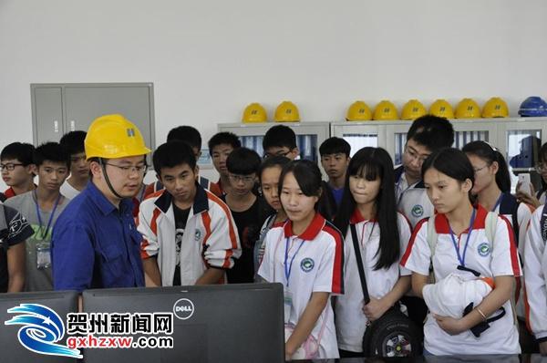 贺州供电局:组织开展校园看电网活动