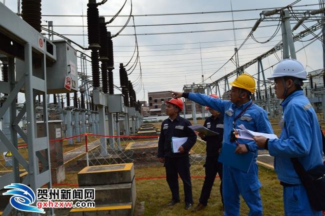 贺州供电局开展基本安全技能实操大考试