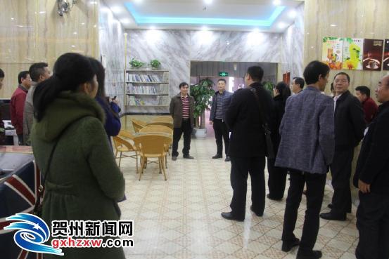 贺州市召开现场观摩会推动乡镇网吧行业转型升级