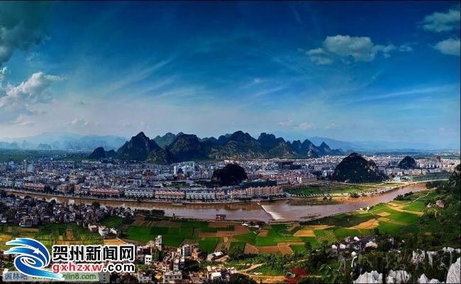 打造山水园林长寿城 ——贺州加快城市建设纪实