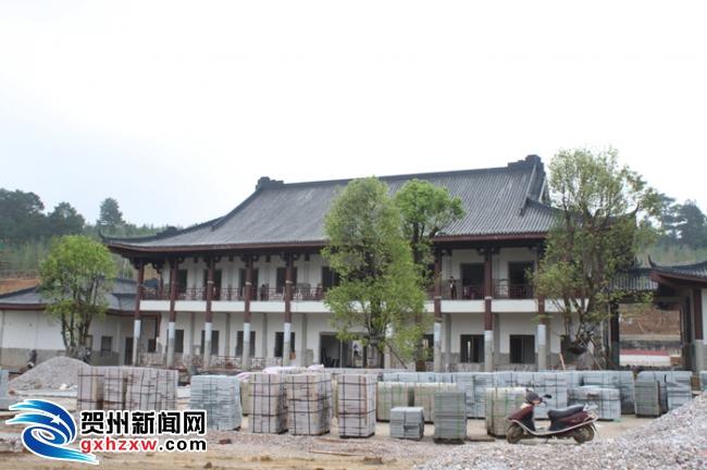 贺州园博园项目建设6月底有望完工