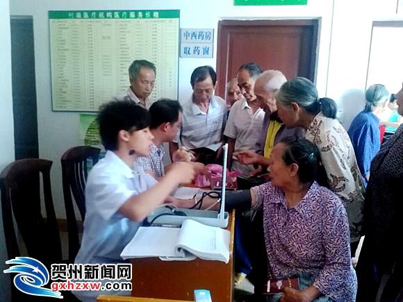 桂岭镇:免费体检下乡村 健康服务进家门
