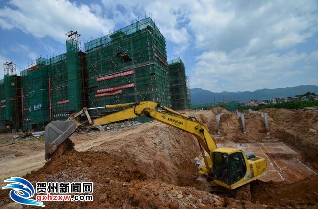 昭平:保障性住房建设忙