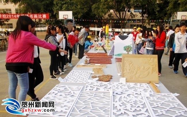 钟山:近千名学生参加才艺技能大赛