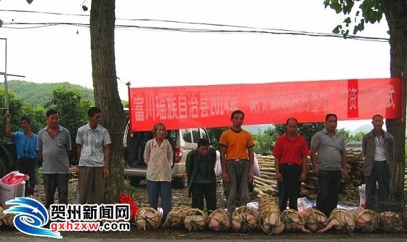 富川:为残疾农户送去致富希望