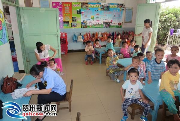 平桂开展幼儿园食堂食品安全专项规范检查