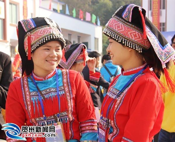 平桂管理区大平瑶族乡喜庆建乡30周年