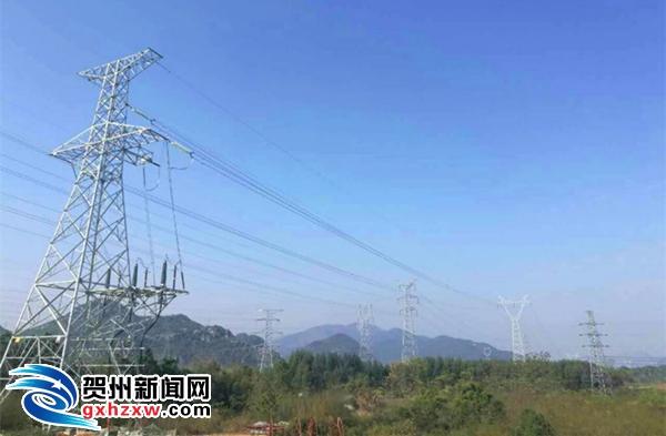 贺州供电局:富川金子岭风电场正式与主电网并网发电
