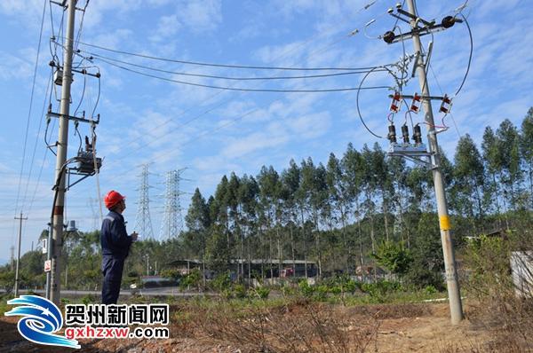 """贺州供电局:主动服务当地电力公司解决配网停电""""老难题"""""""